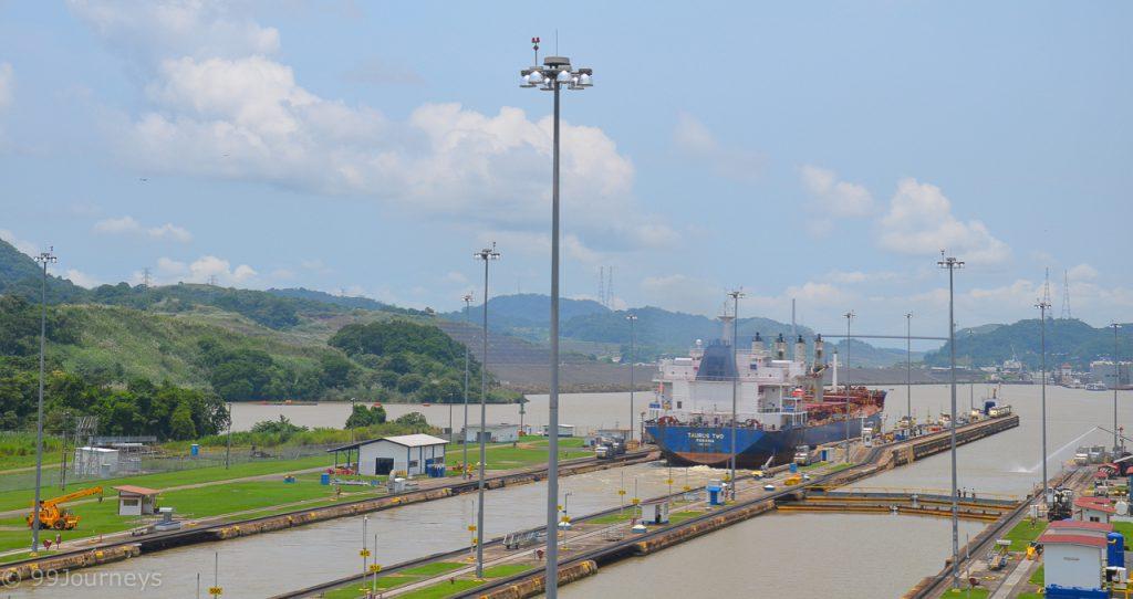 Miraflores Schleusen Panama City
