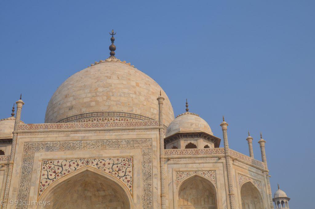 Reisetipps und Reiseberichte Indien - Rajasthan - Agra - Taj Mahal